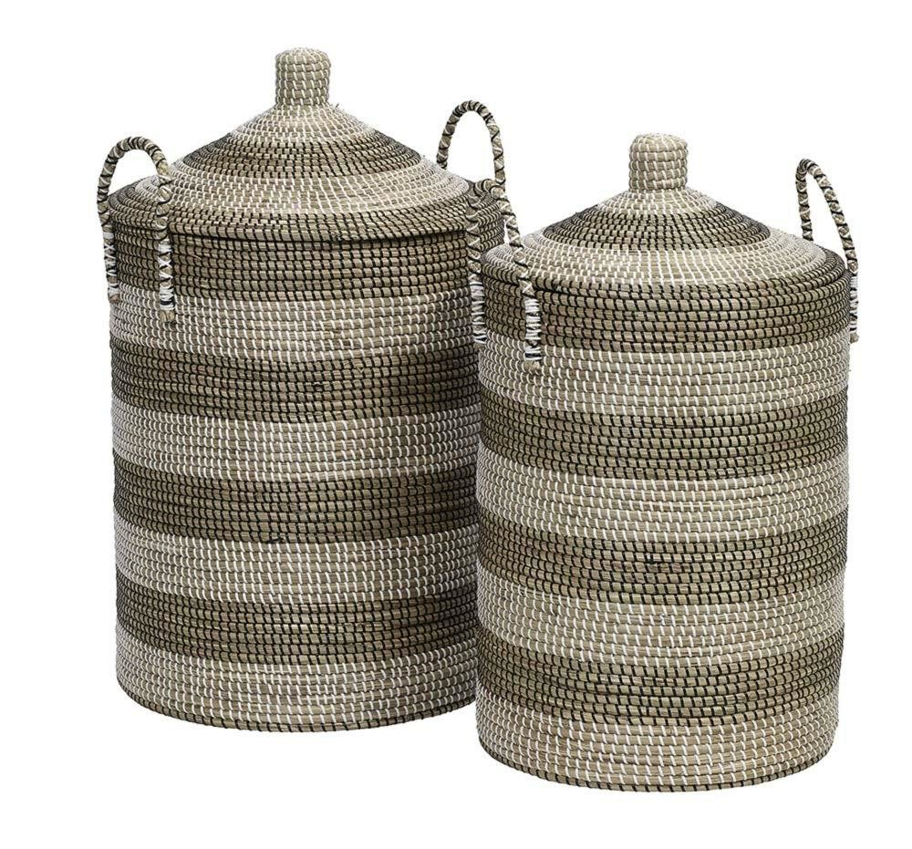 Kendte Søgræs vasketøjskurv med låg • haus and honey CP-93